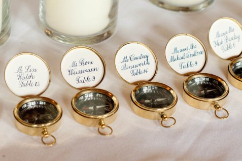 Compass Wedding Favor